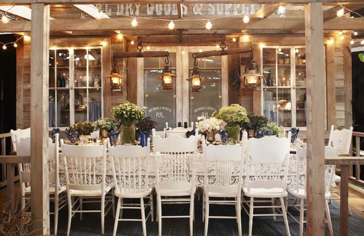 How Ralph Lauren Sets The Table - Town & Country