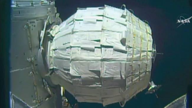 Die ISS hat jetzt ein Vorzelt   Raumstationen der Zukunft sind aufblasbar - Ratgeber - Bild.de