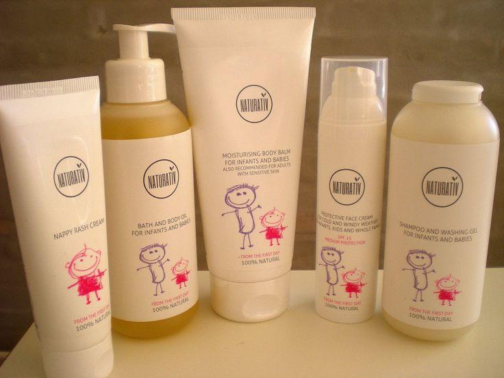 #Naturativ #cosmetics for #kids, #review #Family #Sweet - #Kosmetik til børn fra den første dag i deres liv, og hele #familien