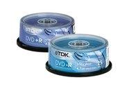 DVD +R Rohlinge, TDK, »DVD -R/+R Rohlinge«