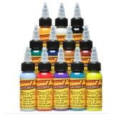 Motor City Set of 12 - 1oz Bottles – Eternal Tattoo Ink