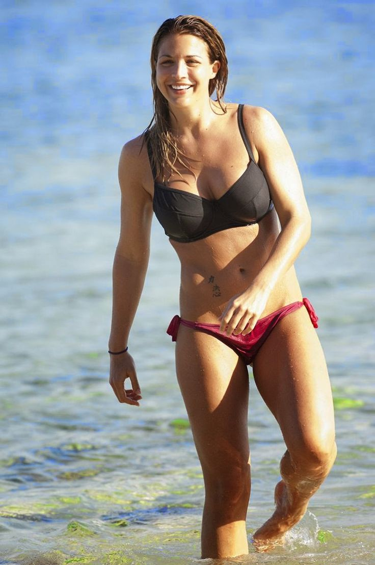 Christmas door decorating davina mccall interview 2015 celebrity interviews - Gemma Atkinson Wears A Black And Red Bikini At Bali Indonesia On Friday June