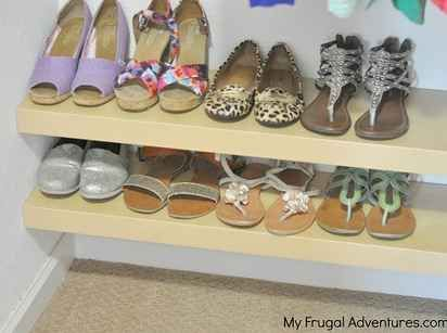 17 best ideas about organize kids closets on pinterest for Rack room kids shoes