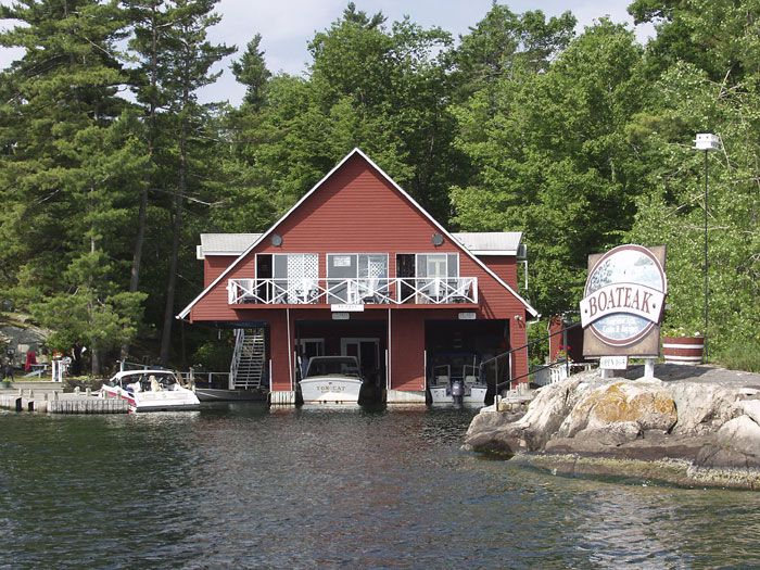 Click Boat House Images To Enlarge Boat Houses