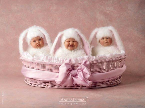 Anne Geddes. Yummy Bunnies