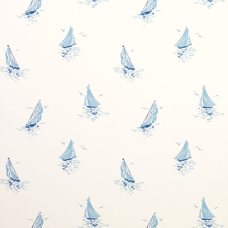 Ahoy Seaspray Wallpaper