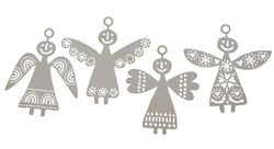 Bengt & Lotta Angels 2015, affix to your advent candle for a Scandinavian Christmas