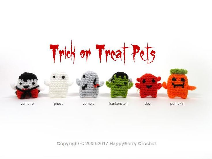 110 best Holiday - Halloween Crochet images on Pinterest | Punto de ...