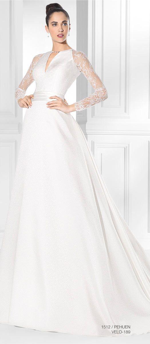 Vestido de novia Amanecer Nupcial PEHUEN-B Mas información en www.entrenovias.es