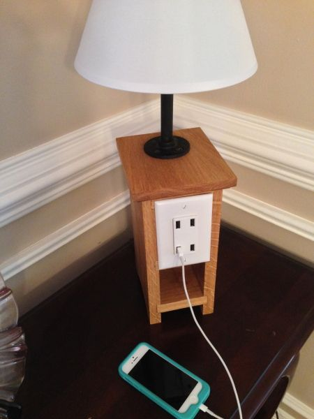 Iphone Charging Lamp Fun Diy Ideas Pinterest Lamps