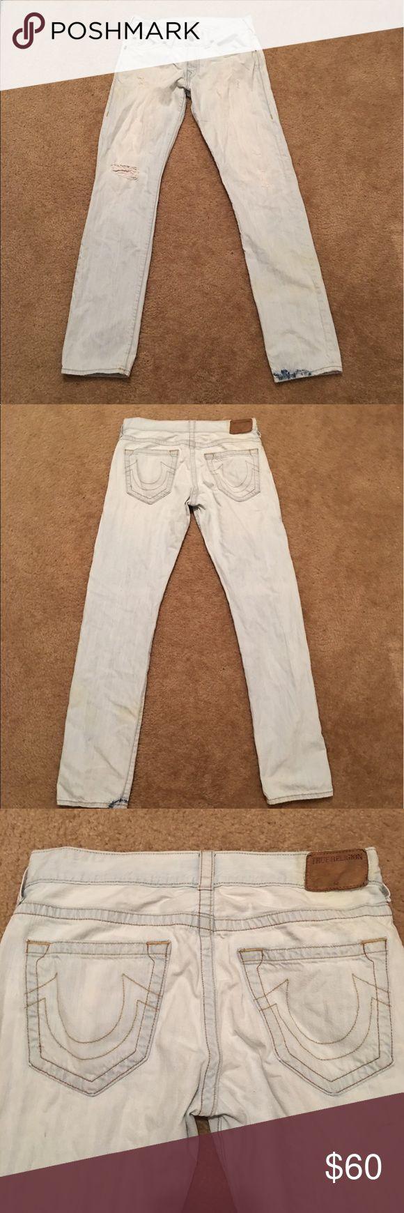 True religion men jeans 31 /32 waist 31 geno true religion jeans/ pants True Religion Jeans Straight