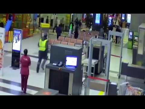 Chase in russian airport https://www.youtube.com/watch?v=trBrg8nkKYU