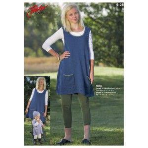 Stickmönster - Västklänning & kortärmad klänning