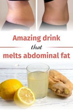 Amazing drink that melts abdominal fat