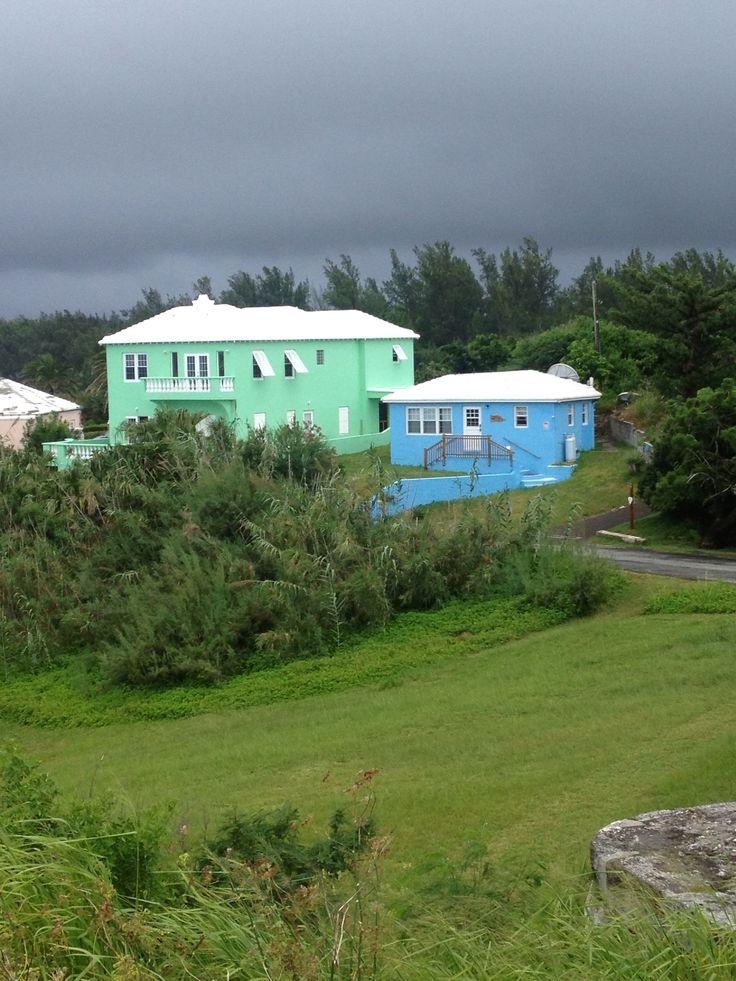 Rainy day Bermuda