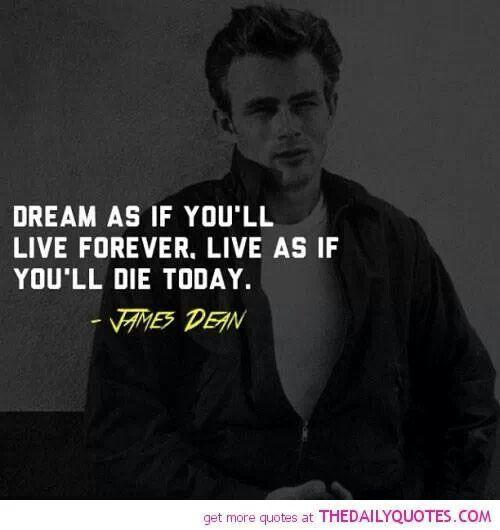James Dean Famous Quotes. QuotesGram