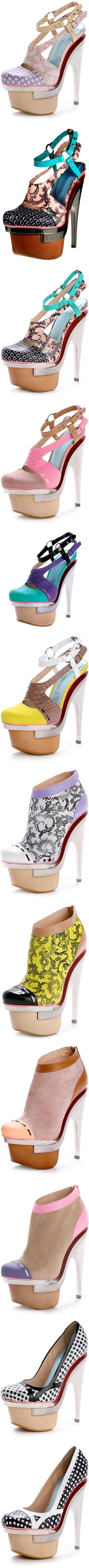 """""""Versace shoes"""" by aniaf ❤ liked on Polyvore"""
