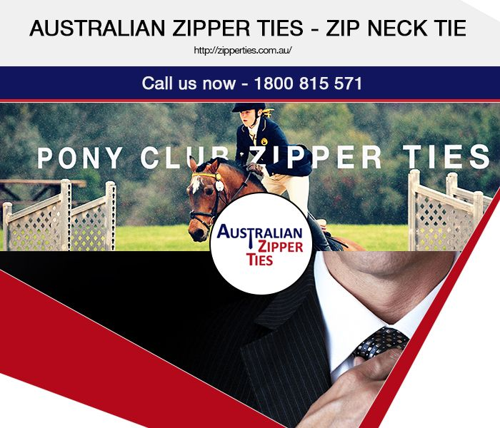 For the days when you are running late or when you are too busy to spare much time on your looks but still want to ensure that you are looking as smart as ever, zipper ties can come in handy. We, Australian Zipper Ties, are the best place from where you can buy finely designed custom ties in Australia. We offer zip neck ties in a variety of styles and patterns. Make purchases online with us!