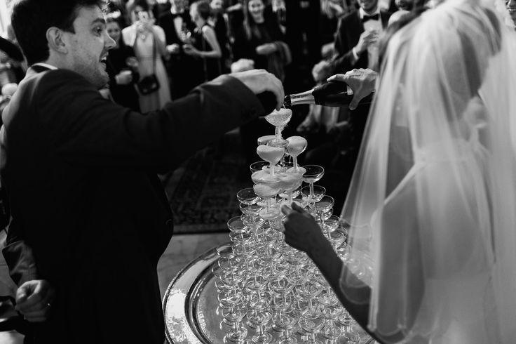 Hotel Royal Saint Mart Royat Clermont Ferrand Fontaine de champagne au mariage