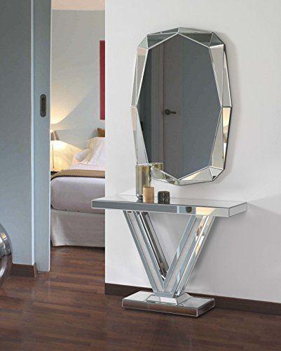 Consola espejo victoria selecci n crystal hogar decora for Espejos para consolas