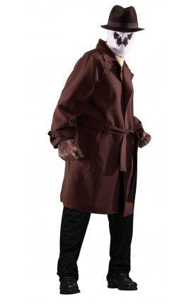 Disfraz de Rorschach Watchmen para hombre talla grande