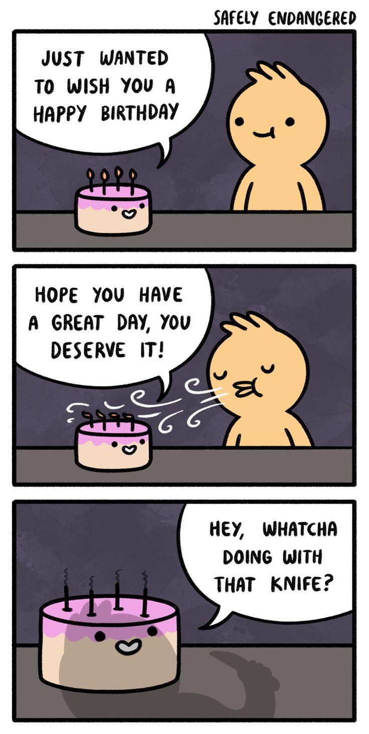 Safely Endangered :: Happy Birthday! | Tapastic Comics
