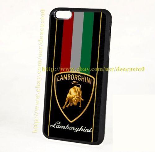 New-Lamborghini-Logo-Strippes-For-iPhone-8-8-7-7-6-6-6s-6s-5-5s-Samsung-Case