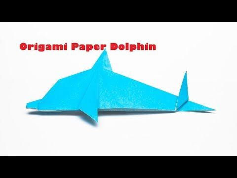 Origami Dolphin।How to make Origami Dolphin Step by Step।Paper Folding D...