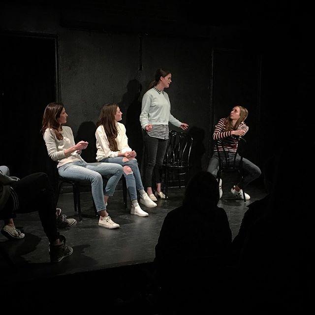 "by stevenraymorris / Steven Ray Morris: ""I can be a handmaid!"" @wildhorsesshow @ucbtla @girlwithatail @stephanieallynne @maryhollandaise @laurenlapkus.  location: Upright Citizens Brigade Theatre - Los Angeles. date: 1494139569"