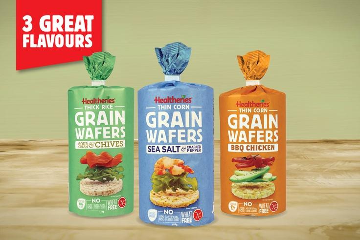 Healtheries Gluten Free Grain Wafers.