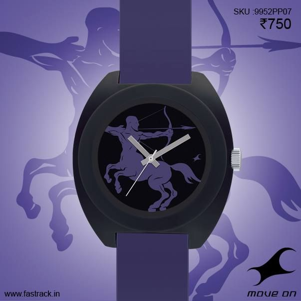 Starry eyed no more. Say hello to our all new IndividualiTEES  #Sagittarius #Fashion #Sunsign #Zodiac #Starsign #Purple #Watch #Fastrack  http://www.fastrack.in/tees/individualitees/