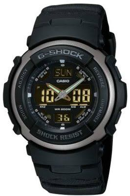Casio G-314RL-1AVER Mens G-Shock Dual Display Watch