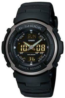 Casio G-314RL-1AVER Mens G-Shock Dual Display Watch