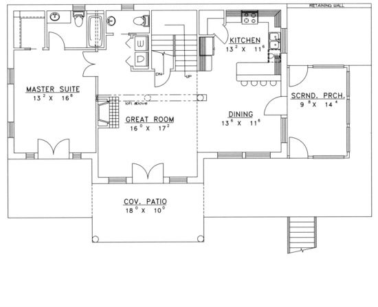 House plan 039 00170 lake front plan 2 272 square feet for 1400 n lake shore drive floor plans