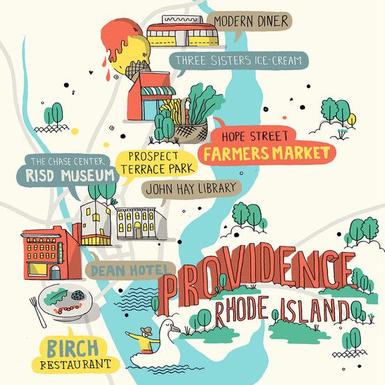 """spot-on guide to Providence! """"The Perfect Long Weekend in Providence"""" - WSJ"""