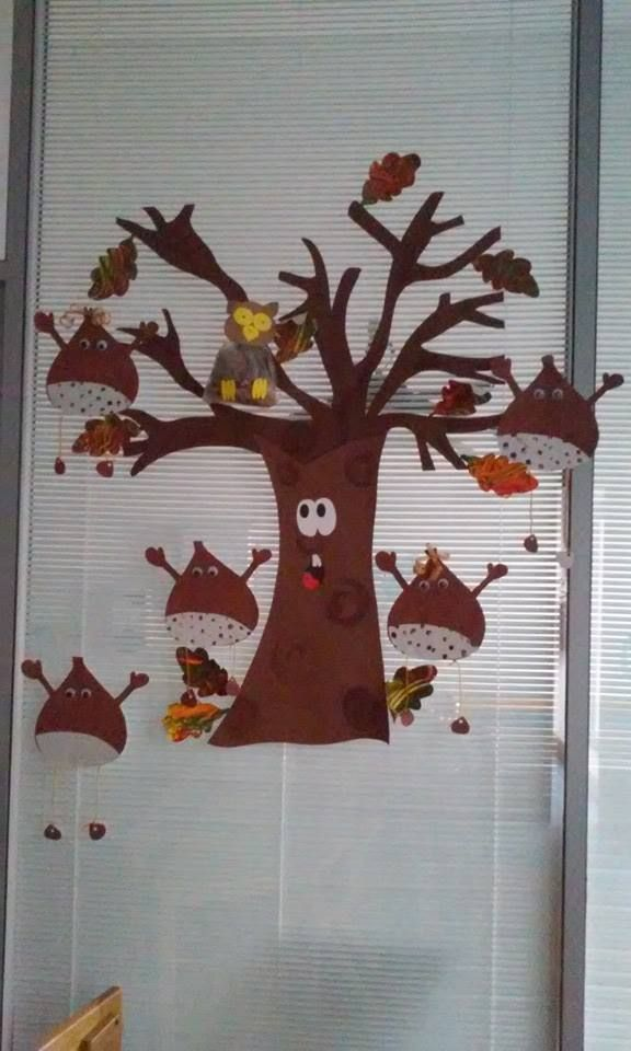 craft: oak tree