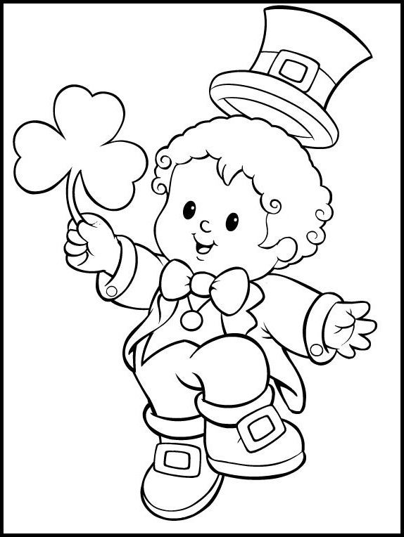 51 best St. Patrick\'s Day images on Pinterest | Coloring pictures ...