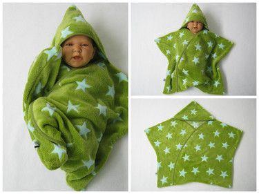 star fleece baby wrap stern schlafsack pucktuch n hen fr hchen und sternenkinder. Black Bedroom Furniture Sets. Home Design Ideas