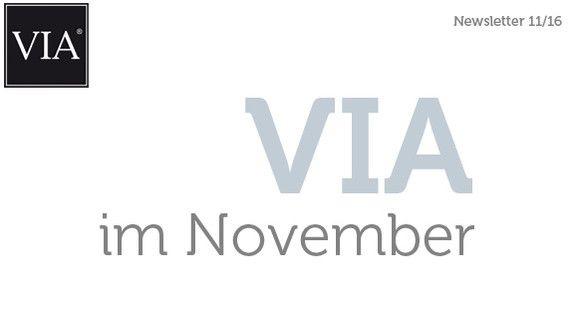 Der VIA Newsletter im November erzählt wie immer Wissenswertes zum Thema Zementmosaikplatten und Terrazzoplatten.
