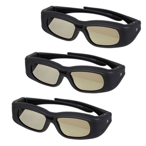 3D TV Glasses and Accessories: 3X 3D Active Shutter Glasses For Samsung Panasonic Bluetooth 3Dtv Rechargeable -> BUY IT NOW ONLY: $62.99 on eBay!