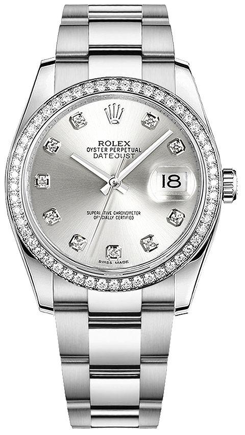 Rolex Datejust 36 116244: 116244 ROLEX DATEJUST 36 WOMEN'S LUXURY WATCHIN STOCK - FREE Overnight Shipping | Lowest Price Guaranteed - No…