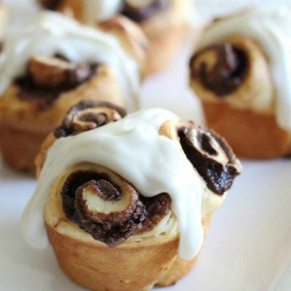 Nutty Nutella Rolls Recipe — Dishmaps