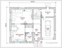 Готовые проекты домов, готовые проекты коттеджей, загородного дома, дачи, купить готовый проект дома Минск   bogdanoff