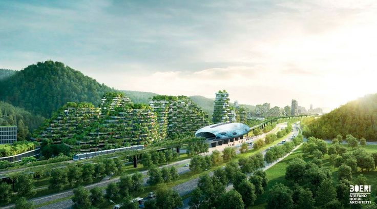 #China: Forest City to fight pollution with a million plants
