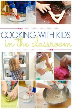 Ideas and Tips for Cooking with Kids at home or in your Preschool classroom. Kid-friendly recipes your kids can help make. - Pre-K Pages