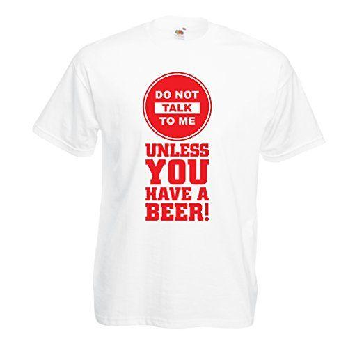 T-Shirt pour Hommes Citations de bière Amateurs! …