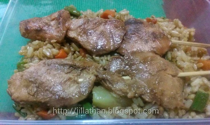The Sexy Chef Dine Lite Meal: Huli Huli Hawaiian Chicken with Pineapple Fried Rice