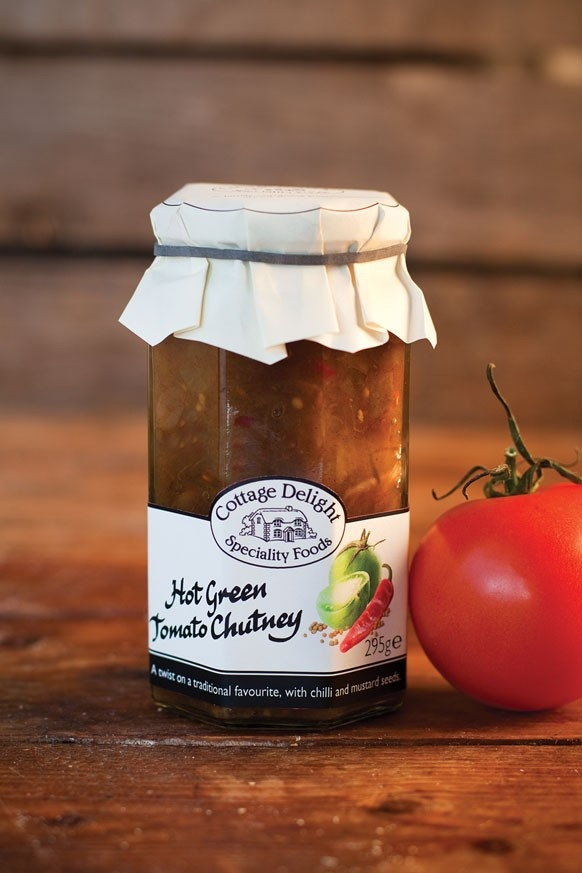 Extra yummy... I'm never without a jar in the cupboard. Hot Green Tomato Chutney