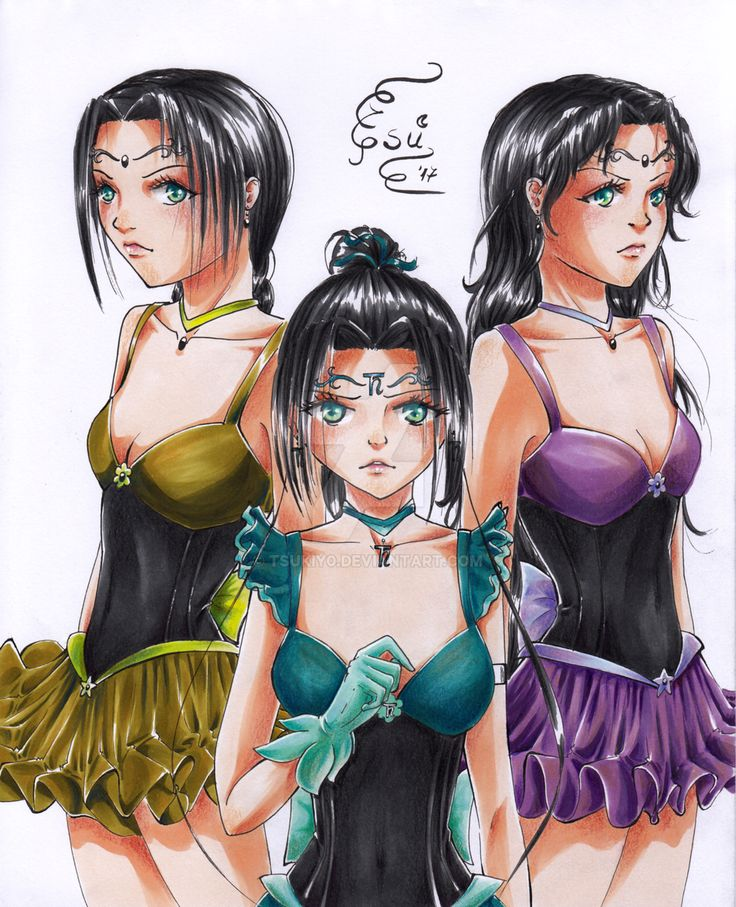 .: Power of three :. by TSUKIY0 on @DeviantArt