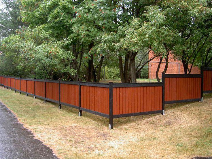 Aidan värit pääsevät ruskan värien myötä oikeuksiinsa - This fence will look awesome when the colors of fall are changing
